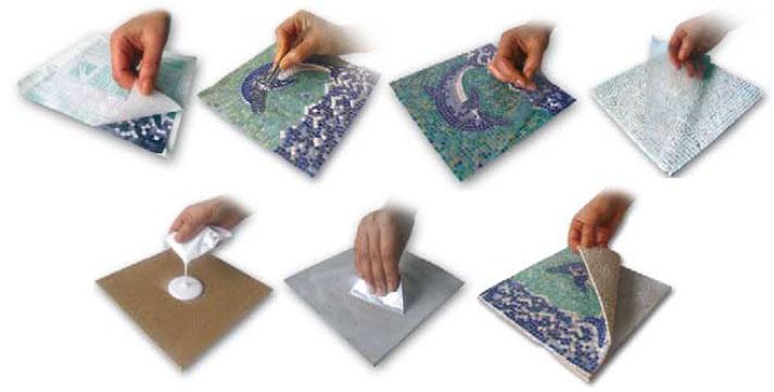 Výroba mozaiky návod
